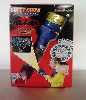 Batman & Robin View Master Super Show Projector 1997 - New