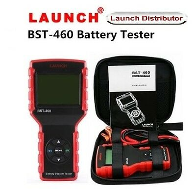 Original LCD Display Launch BST-460 Battery System Tester Analyzer Tool
