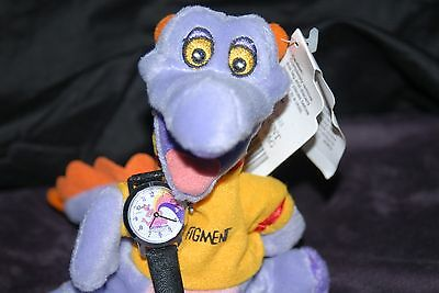 Disney Figment Watch With Bonus Figment Stuffed Toy Both From 1982 Era Vintage