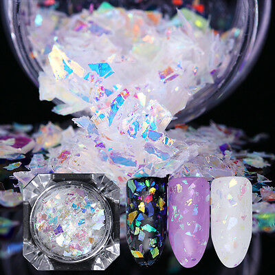 Nail Flakes Candy Glass Paper Nail Glitter Sequins Paillette Decor Born Pretty