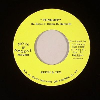 "KEITH & TEX/LYNN TAIT/THE DESMOND MILES SEVEN - Tonight - Vinyl (7"")"
