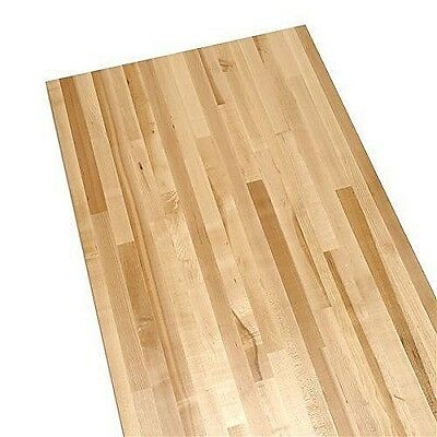 """28"""" x 72"""" x 1.75"""" Thick Hard Rock Maple Butcher Block Counter Tops"""
