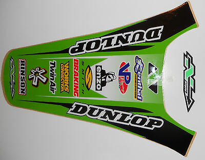 N-STYLE KAWASAK KX125 KX250 REAR FENDER DECAL KIT ( 2003 to 2008 )