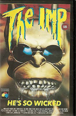 THE IMP - vhs -  colourbox release - 1989 big box ex-rental  - Rare video