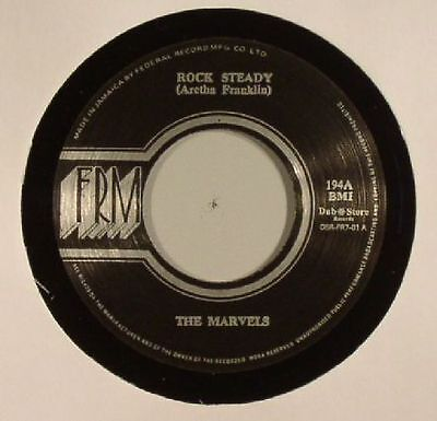 "MARVELS, The/LLOYD CHARMERS - Rock Steady - Vinyl (7"")"