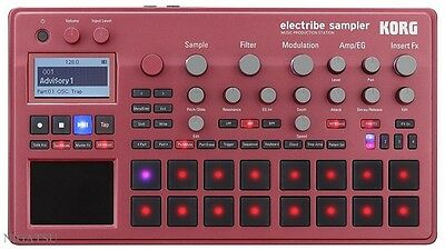NEW KORG ELECTRIBE2SRD electribe sampler MUSIC PRODUCTION STATION RED from JAPAN