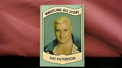 "Wrestling All Stars 1982 Series A Card ""26 Pat Patterson"""