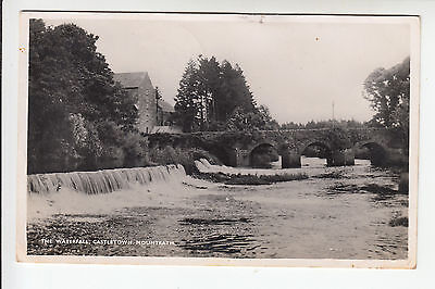 Ireland, Laois: The Waterfall, Castletown, Mountrath - RP PC PU 1949 (704)