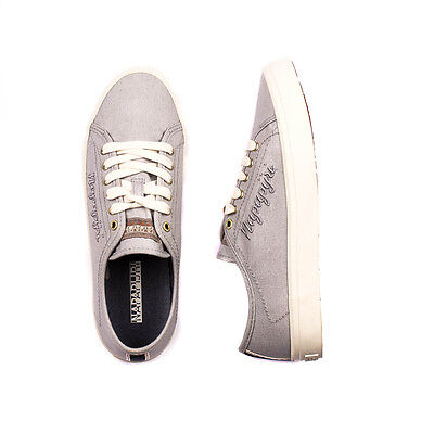 NAPAPIJRI Size 38 / UK 5 Women's ERIN Lace-Up Low Top Canvas Sneakers / Trainers