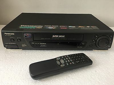 PANASONIC NV-HD680 VHS VCR mit Fernbedienung S-VHS Player