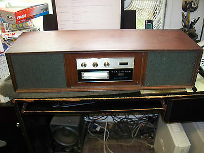 Vintage RCA VICTOR Mark 8 Stereo  8-Track Tape Player.