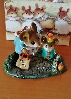 "Wee Forest Folk M-372 ""Mommy's Little Trickster"" RETIRED Mint"