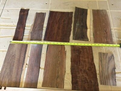 Marquetry Veneers, Rosewood and figured Mahogany ( ref 241 )