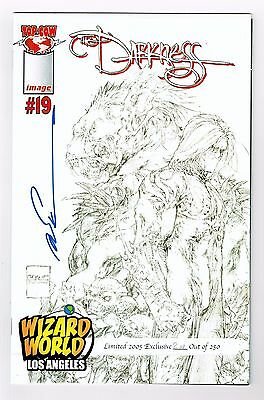 Darkness #19 Vol 2 Wizard World Los Angeles Limited #2AP/250 Sign Marc Silvestri