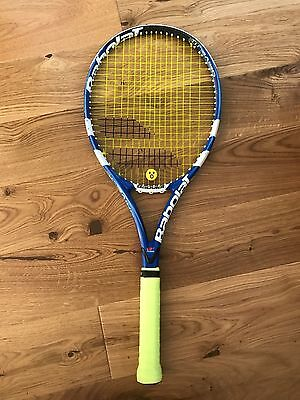 Babolat Pure Drive Lite GT Tennis Racket. Grip 2. New Restring