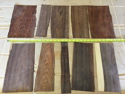 Marquetry Veneers, Rosewood and figured Mahogany ( ref 242 )
