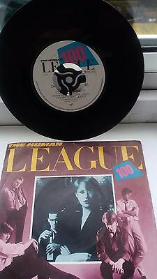 "THE HUMAN LEAGUE Don't You Want Me UK 7"" 1981 vinyl 45 single record"