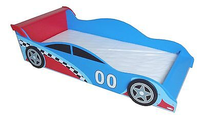 Bebe Style Childrens Racing Car Wooden Junior Bed NEW Childs Kids Cotbed