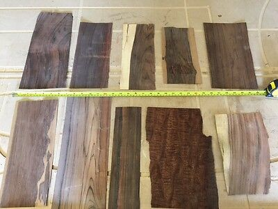 Marquetry Veneers, Rosewood and figured Mahogany ( ref 243 )