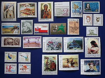 Poland - 1982-1987 Collection of MNH sets
