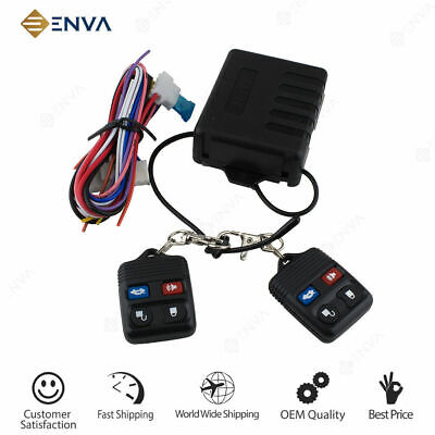 Central Locking Keyless Entry System With 2 Remote Controlers, Ford Universal
