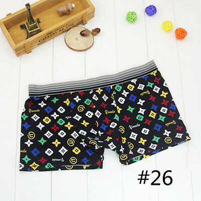 L flowe Shorts Cartoon boy Modal Boxer Briefs Underwear Men's Underwear Boxer