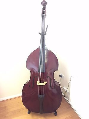 Student DOUBLE BASS ¾ size outfit with Bow & Good Case