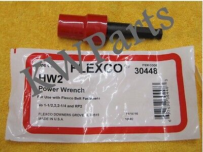 Flexco 30448  Hw2 Power Wrench *New In Original Package*