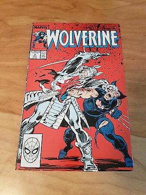 Wolverine #2, 1988 First Ongoing Series, Chris Claremont, VS Silver Samurai, NM