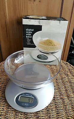 Electronic Digital Kitchen  Scale With Bowl 5 Kg Precision