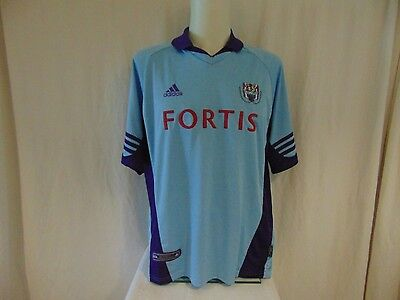 Maillot Foot Shirt Anderlecht Porte  N°9 Match Worn Ancien