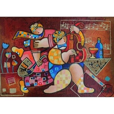 Dorit Levi Amazing Limited Edition Serigraph Merry Music