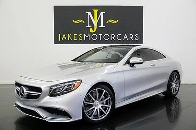 2015 Mercedes-Benz S-Class S63 AMG DESIGNO Coupe ($182K MSRP) 2015 MERCEDES S63 AMG DESIGNO COUPE! $182K MSRP! ONLY 7700 MILES! LOADED!