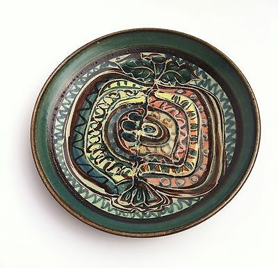 JOHN GREEN Cheesemans Pottery Small Plate Hand Painted