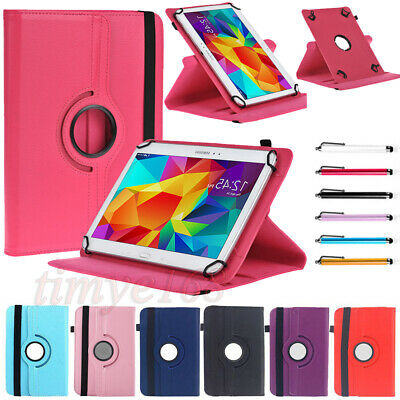 """360° Rotating Universal Leather Stand Case Cover For 9.7"""" 10"""" 10.1"""" Inch Tablet"""
