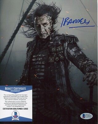 Javier Bardem signed autographed Pirates 8x10 Photo Beckett BAS