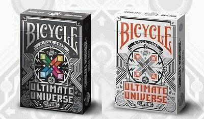 Bicycle Playing Cards - Ultimate Universe (Set of 2)