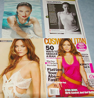 OLIVIA WILDE 139x Clippings Covers