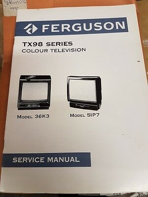 ferguson tx98 series  service manual