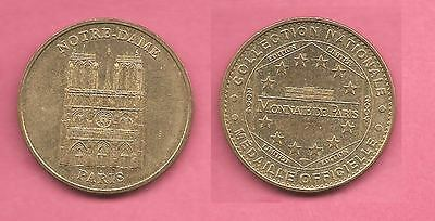 France Notre-Dame, Paris National Collection of Official Medals / coin / token.
