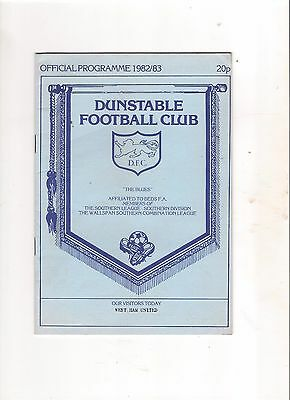 1982/3  Dunstable v West Ham  (Fr)