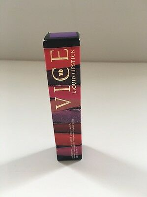 Urban Decay Vice Waterproof Long-lasting Liquid Lipstick PANDEMONIUM BNIB