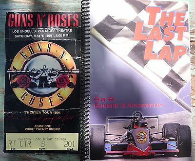 Guns n' Roses -  VERY RARE & VERY UNIQUE - World Tour Diary Use Your Illusion.