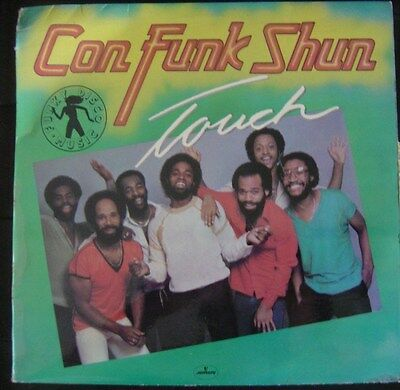 CON FUNK SHUN touch SPAIN LP MERCURY 1981 DISCO SOUL FUNK