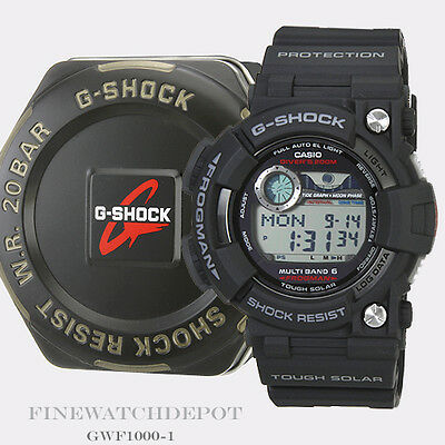 Authentic Casio G-Shock Men's Frogman Digital Multiband Watch GWF1000-1