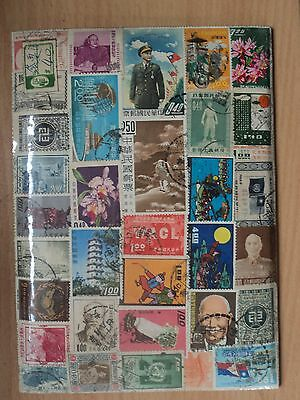 Taiwan China Selection of Used stamps 1960s
