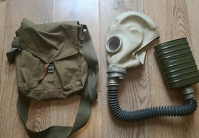 "Gas mask ""Elephant"" Cold War GP5 with filter and bag"