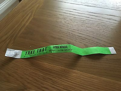 Take That Wonderland 2017 Wrist Band