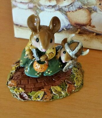 "Wee Forest Folk M-443 ""Eric the Reticent"" RETIRED Mint"