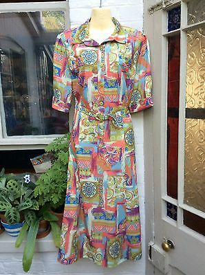 Vintage 1980's Baruch Dress Size 16